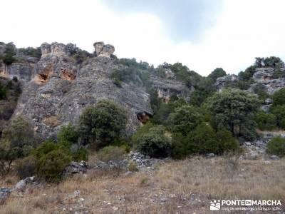 Barranco de la Hoz - Sierra de la Muela;lugares para visitar en madrid pueblos con encanto madrid am